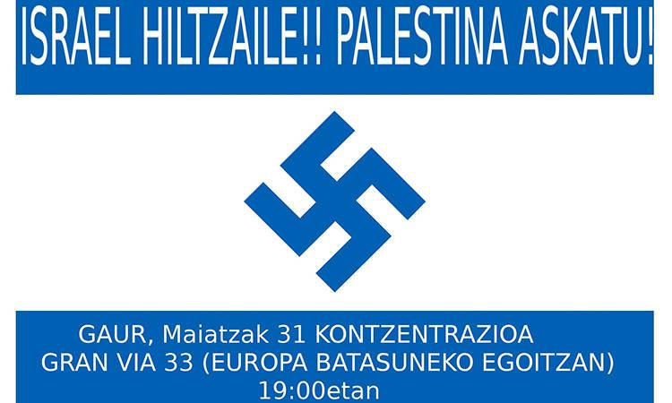 Azken ordua! Elkarretaratzea Bilbon - Euskadiko Gazteriaren Kontseilua