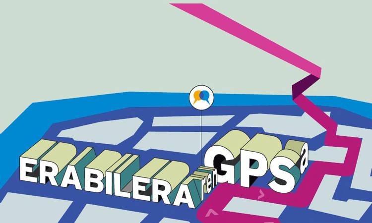 Gazteon euskara-lurraldean mugitzen jakiteko GPS-a egin dute