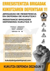 Kukutza erresistentzia brigadak