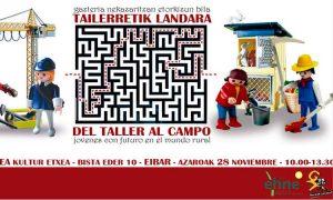 Tailerretik Landara: gazteria nekazaritzan etorkizun bila - Euskadiko Gazteriaren Kontseilua (EGK)