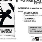 EGK-k eta ESK-k murrizketei buruz hitz egingo dute Ortuellan