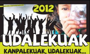 Udalekuak 2012