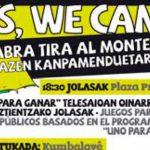 Yes, we camp! La cabra tira al monte: goazen kanpamenduetara!