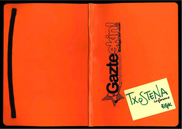 GazteEkin txostena - Euskadiko Gazteriaren Kontseilua