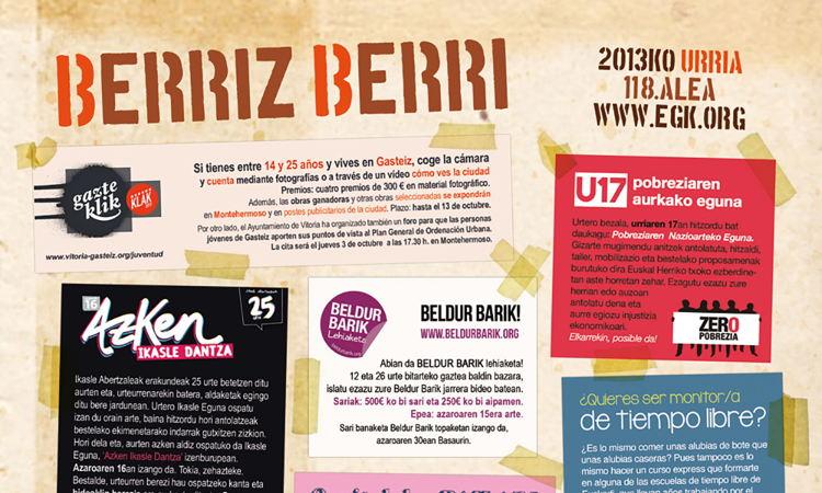 2013ko urriko Berriz Berri