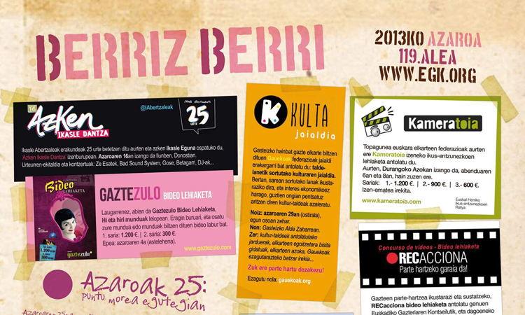 Berriz berri noviembre de 2013 corto