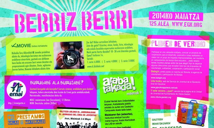 Agenda Berriz Berri de Mayo