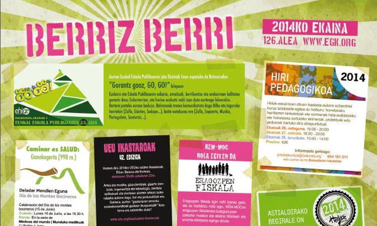 Berriz Berri de junio de 2014