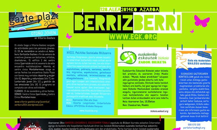 Azaroko Berriz Berria laburra