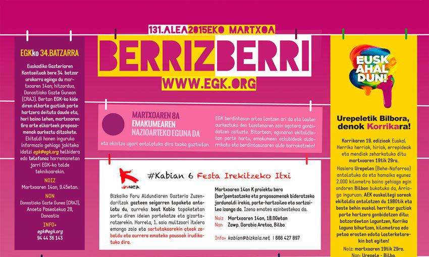 Berriz berri 2015 martxoa