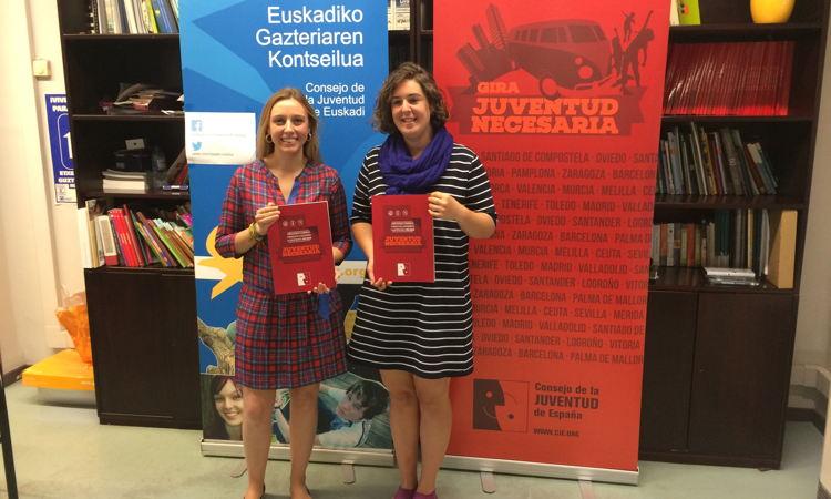 Juventud Necesaria txostenaren Euskadiren datuak
