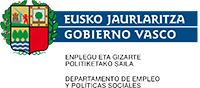 Eusko Jauralritzako Enpelgu eta Gizarte Politiketako Sailaren logoa