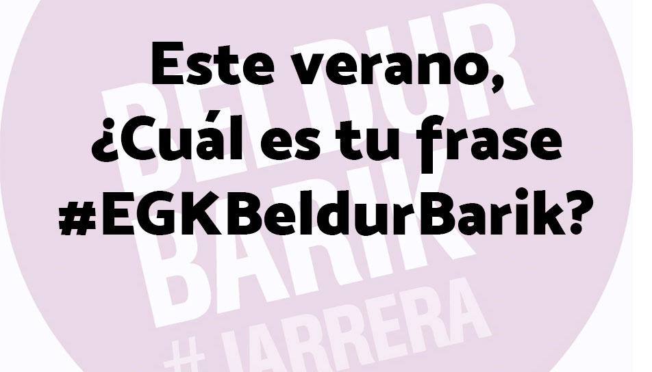 Concurso #EGKBeldurBarik