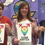 Foto de la rueda de prensa del Sello Gune Anitza