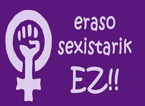 Euskadiko Gazteriaren Kontseilua sexismoaren aurka