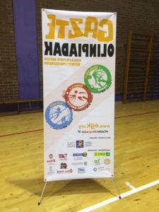 GazteOlinpiadak 2015 Goalball