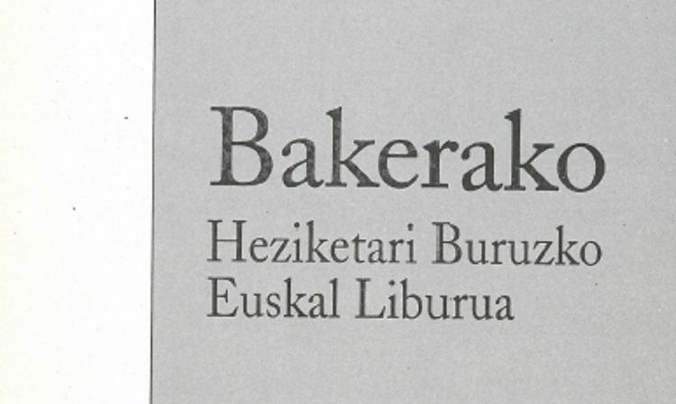 Bakerako Heziketari