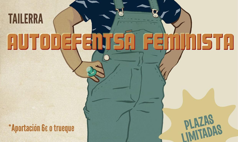 Taller autodefensa feminista - Maitena Monroy (Ecuador-Etxea)