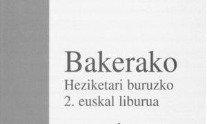II. Bakerako Heziketari buruzko Euskal Liburua