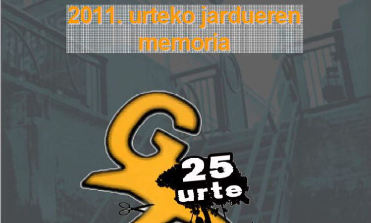 2011ko memoria