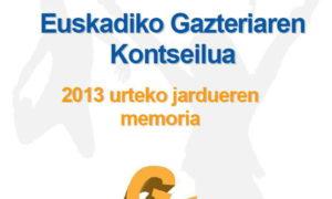 2013ko memoria