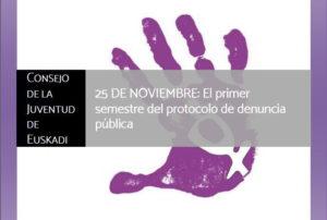 25 de Noviembre: Las personas jóvenes también contra la violencia contra las mujeres