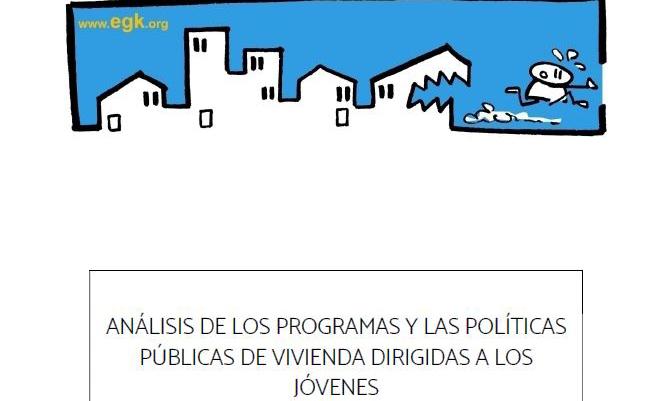 Portada del informe Análisis de los programas y las políticas públicas de vivienda dirigidas a jóvenes
