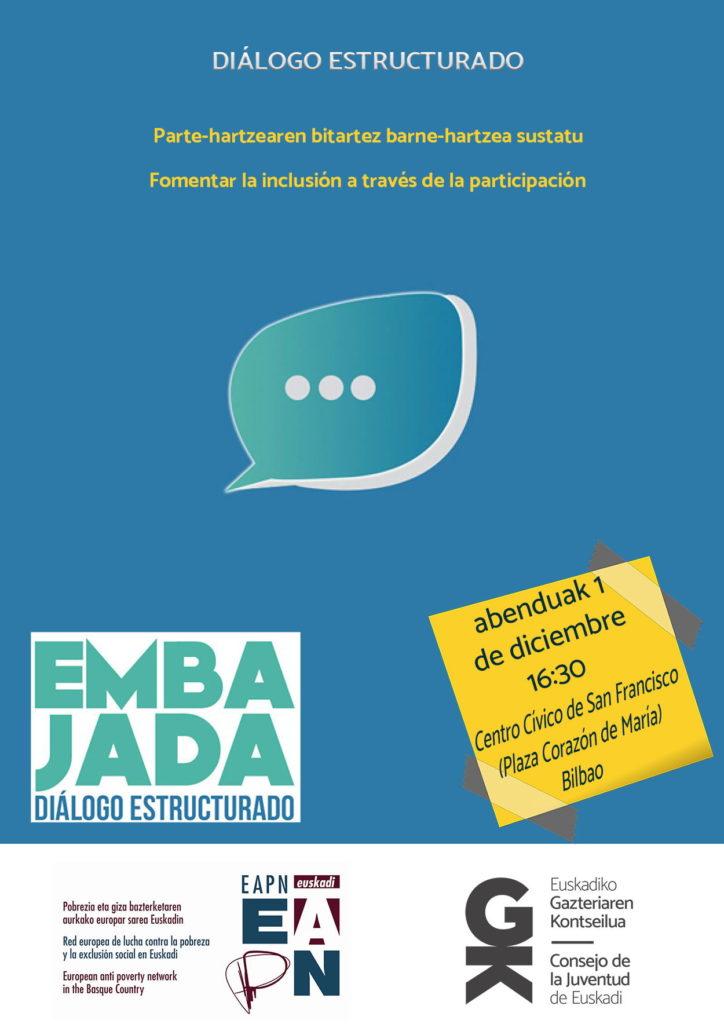 Convocatoria con EAPN para recabar propuestas sobre la inclusión y participación de la juventud más desfavorecida