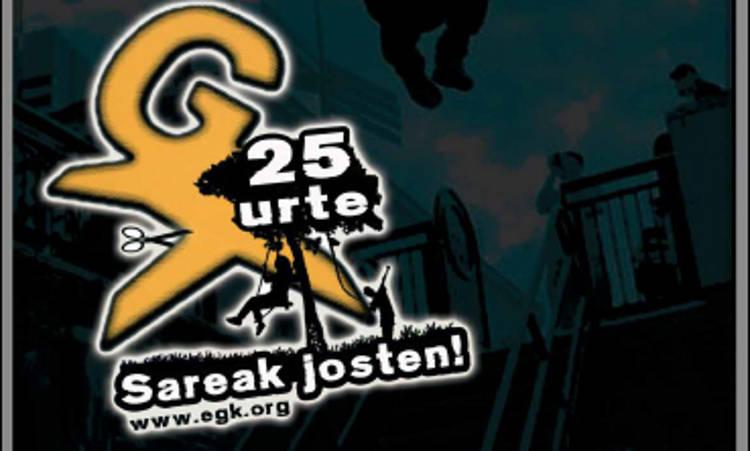 25 urte sareak josten Ahotik At 9 - Euskadiko Gazteriaren Kontseilua