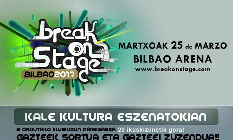 BreakOnStage 2017 jaialdirako sarrerak