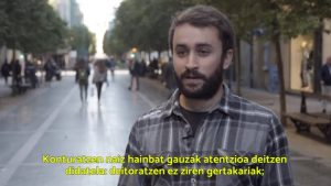 Bakea eta Bizikidetza lan-arloaren ziklo amaiera ekitaldia - EGK