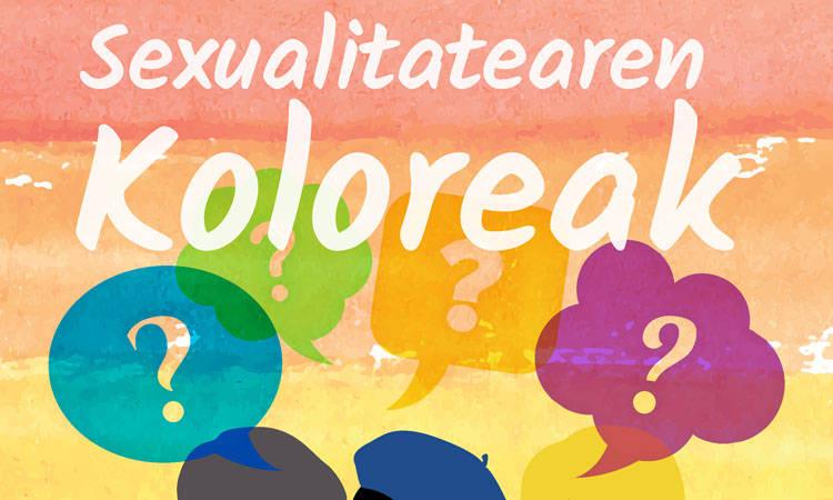 Sexualitatearen Koloreak gida - Euskadiko Gazteriaren Kontseilua