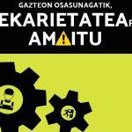 Gazteon osasunagatik, prekarietatearekin amaitu! - Euskadiko Gazteriaren Kontseilua