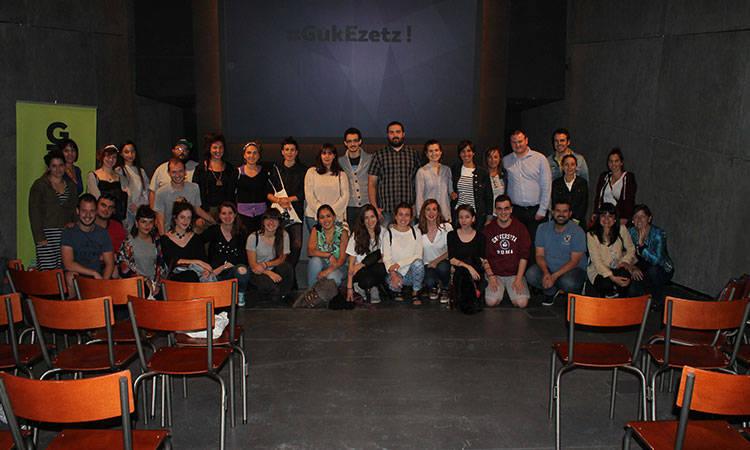 Guk Ezetz jardunaldia #GukEzetz - Euskadiko Gazteriaren Kontseilua