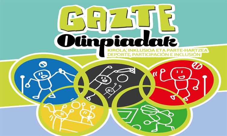 Badatoz 2017ko #GazteOlinpiadak ! Euskadiko Gazteriaren Kontseilua