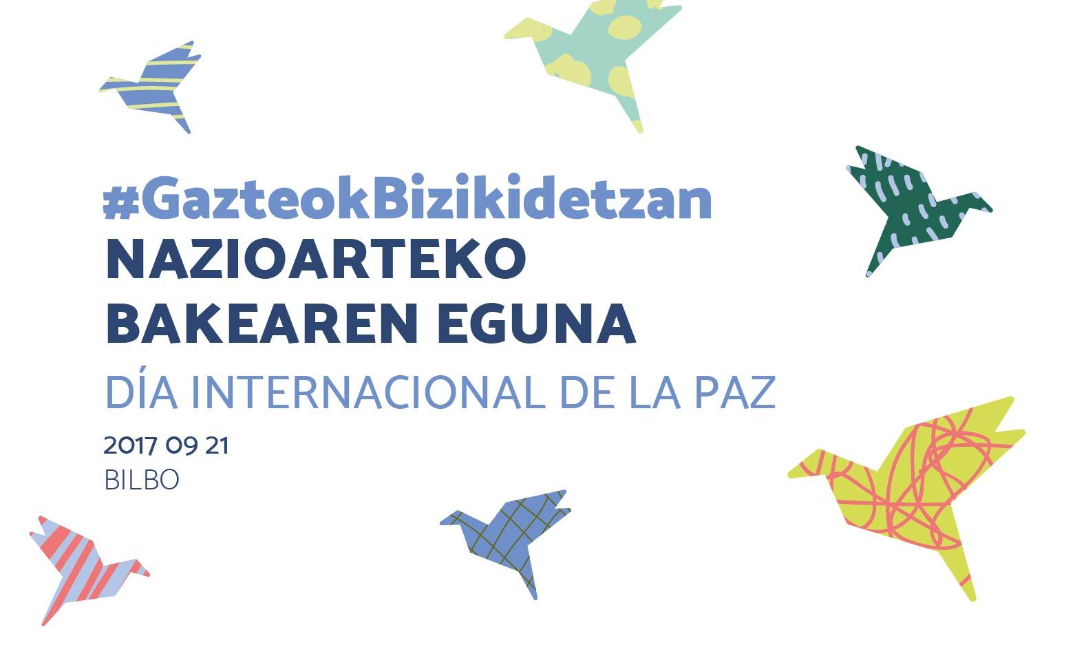 #GazteokBizikidetzan: Nazioarteko Bakearen Eguna - EGK