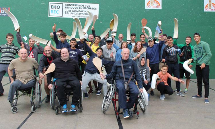 GazteOlinpiadak ospatu dugu Antiguako pilotalekuan - Euskadiko Gazteriaren Kontseilua (EGK)