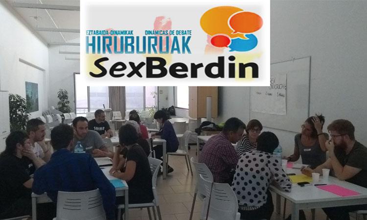 SexBerdin Hiruburua Gasteizen - Euskadiko Gazteriaren Kontseilua