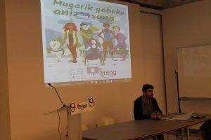 'Mugarik gabeko aniztasuna' gidaren aurkezpena - Euskadiko Gazteriaren Kontseilua