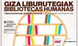 Memoriaren Eguna ospatzeko Giza Liburutegiak espazioan parte hartu