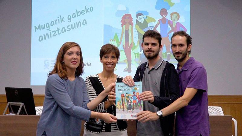 'Mugarik gabeko aniztasuna' gidaren aurkezpen ekitaldia - Euskadiko Gazteriaren Kontseilua