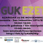 Azaroan ere #GukEzetz! Zatoz zure iritzia ematera! - Euskadiko Gazteriaren Kontseilua (EGK)