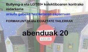 Bullying-a eta LGTBI+ kolektiboaren kontrako indarkeria