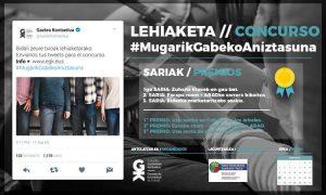 2017ko Twitter lehiaketa: #MugarikGabekoAniztasuna - Euskadiko Gazteriaren Kontseilua (EGK)