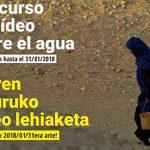 Uraren inguruko bideo-lehiaketa - Arabako SEADen Lagunen Elkartea