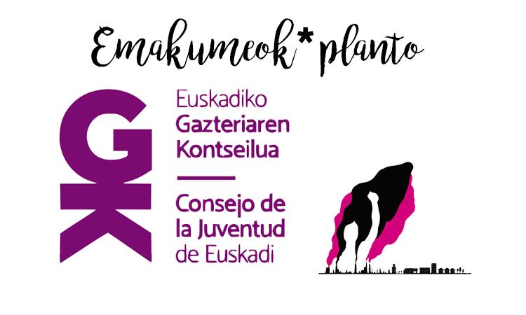 Martxoak 8ko greba feminista babesten dugu - Euskadiko Gazteriaren Kontseilua (EGK)