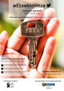 Concurso de Twitter #EtxebizHitza - Consejo de la Juventud de Euskadi