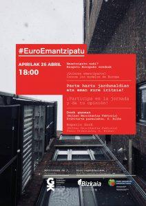 #EuroEmantzipatu jardunaldia Bilboko Dock gunean apirilaren 26an