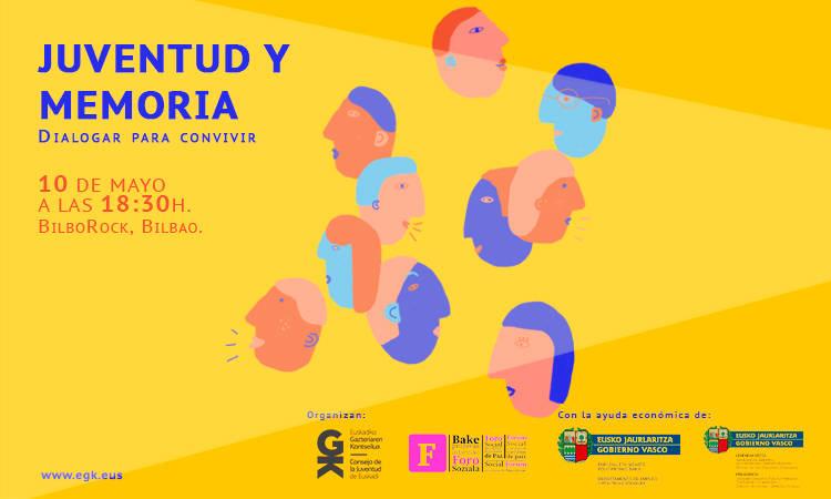 Juventud y Memoria: Dialogar para convivir - Consejo de la Juventud de Euskadi