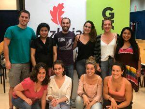 #IzanZuAldaketa gazte boluntarioen topaketako argazkiak - Euskadiko Gazteriaren Kontseilua (EGK)